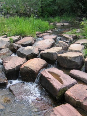 We are living stones in the flow of eternal life