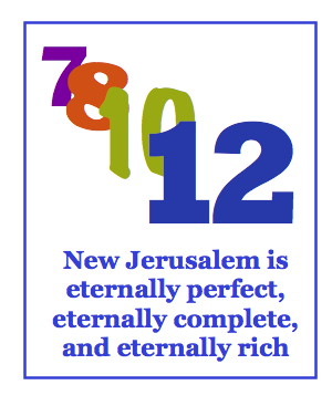 New Jerusalem is eternal