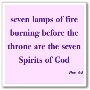 Seven Spirits for New Jerusalem
