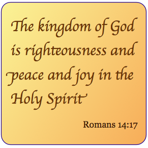righteousness is by faith in Christ