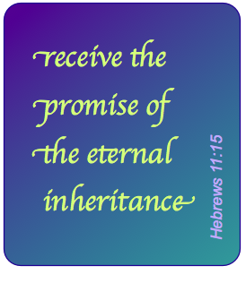 The Spirit, our foretaste of New JErusale, our inheritance