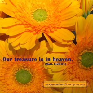 treasure New Jerusalem
