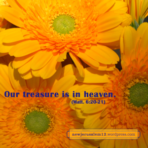 treasure New Jerusalem