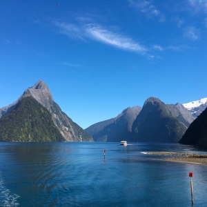 Milford Sound, NZ, USFS photo by Robert Westover, CC 2.0