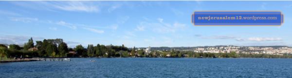 Lake Leman near Lausanne