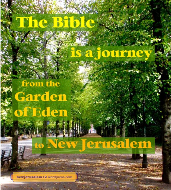 Garden Of Eden Landscape: New Jerusalem - The Consummation